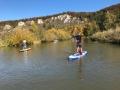 SUP-Flussfahrt auf der Altmühl (10/2017)