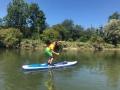 SUP-Flusstour (August 2017)